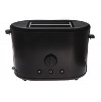 Тостер на 2 скибки 870 W черный матовый, нержавеющая сталь