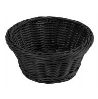 Корзина D 18,5 см черная, полипропилен