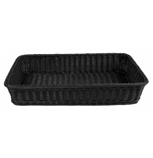 Корзина 53x32,5 см черная, полипропилен