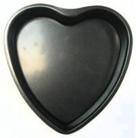 """Форма  """"Сердце"""" 20 см разъемная с антипригарным покрытием"""