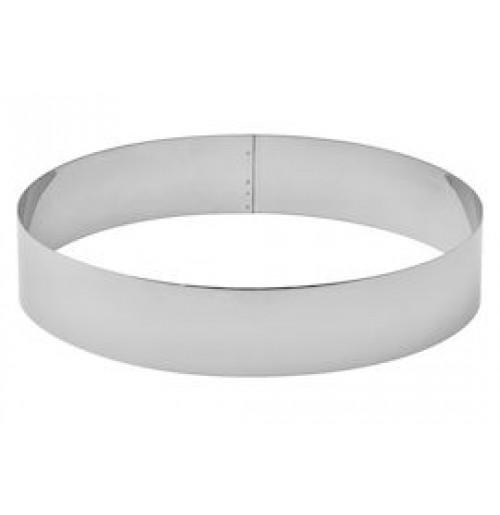 Кольцо кондитерское для выпечки и формовки 26 см, нержавеющая сталь