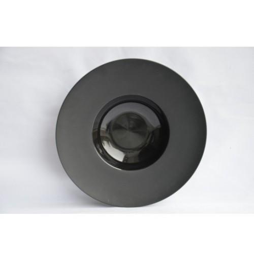 Тарелка для пасты 27 см черная (ОСТАТОК 1 шт), фарфор