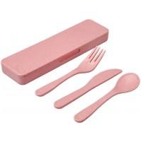 Набор столовых приборов «Bamberg», розовый.