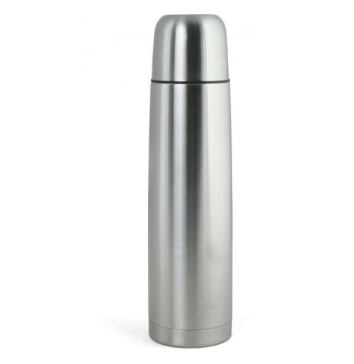 Термос 0.7 л серебристый (ВЫСТАВОЧНЫЙ ОБРАЗЕЦ, 1 ШТ), нержавеющая сталь