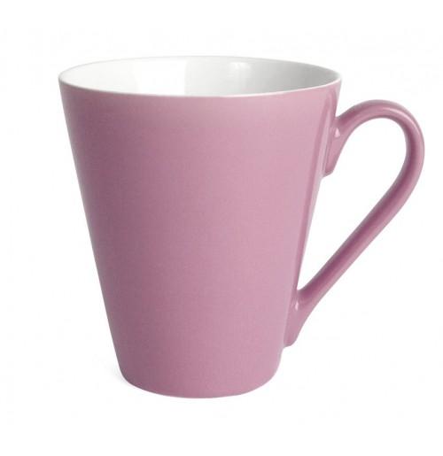 Кружка Attila 200 мл розовая/белая, керамика