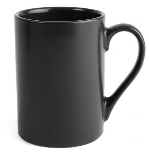 Кружка Hera 250 мл, черная, керамика