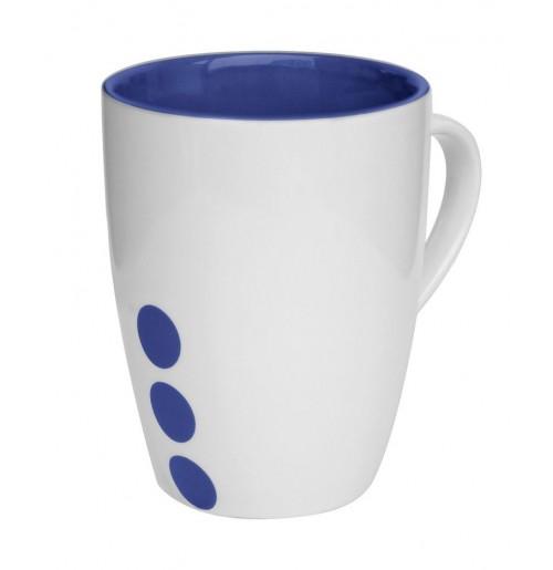 Кружка Prick 300 мл синяя, керамика