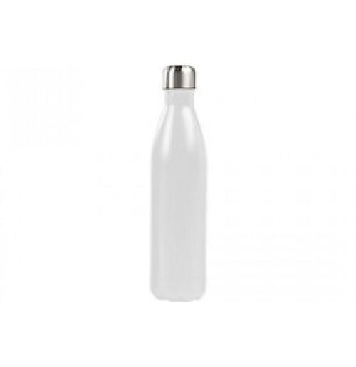 Бутылка-термос 0.75 л белая, нержавеющая сталь