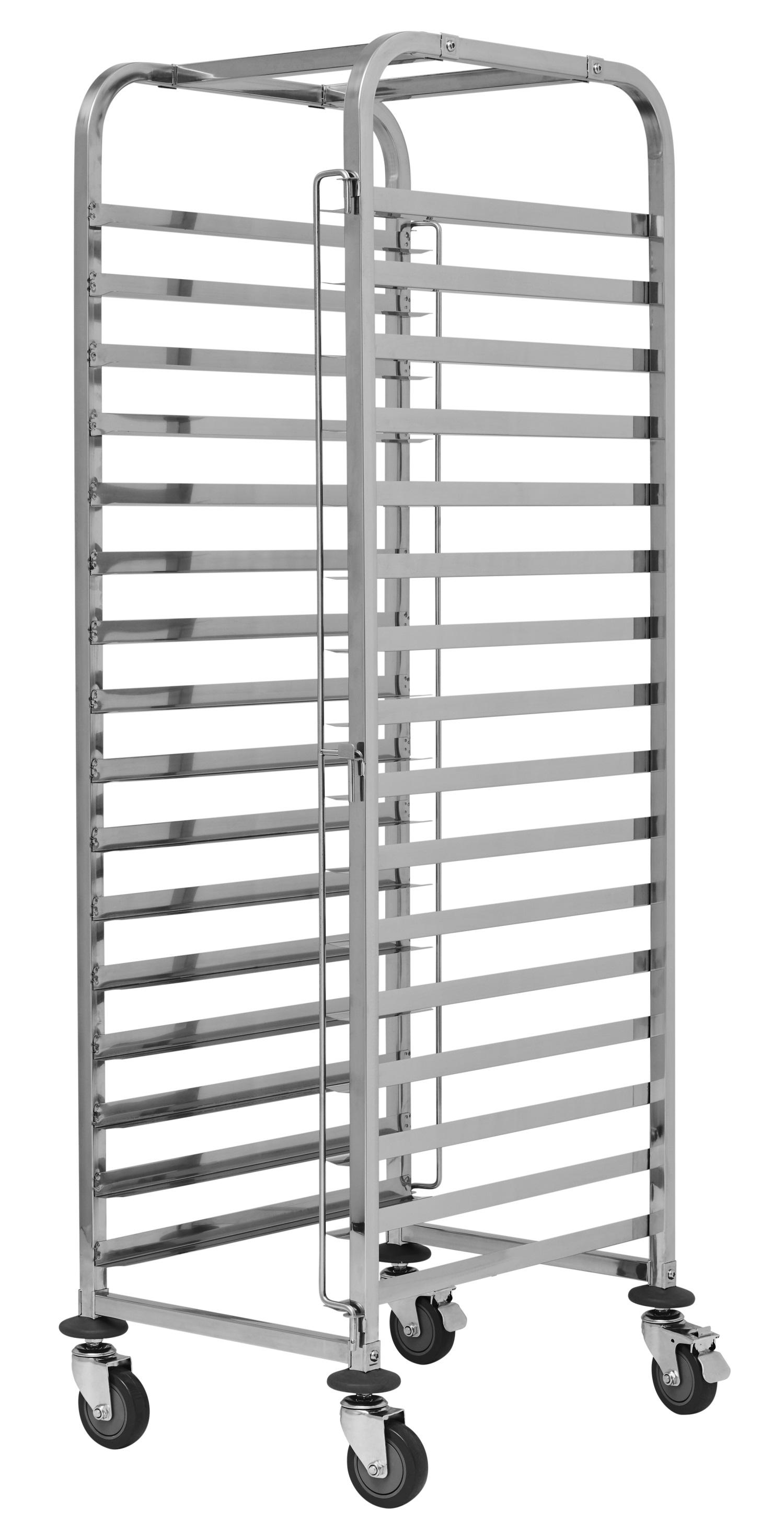 Тележка-шпилька для противней 60х40 см, нержавеющая сталь.