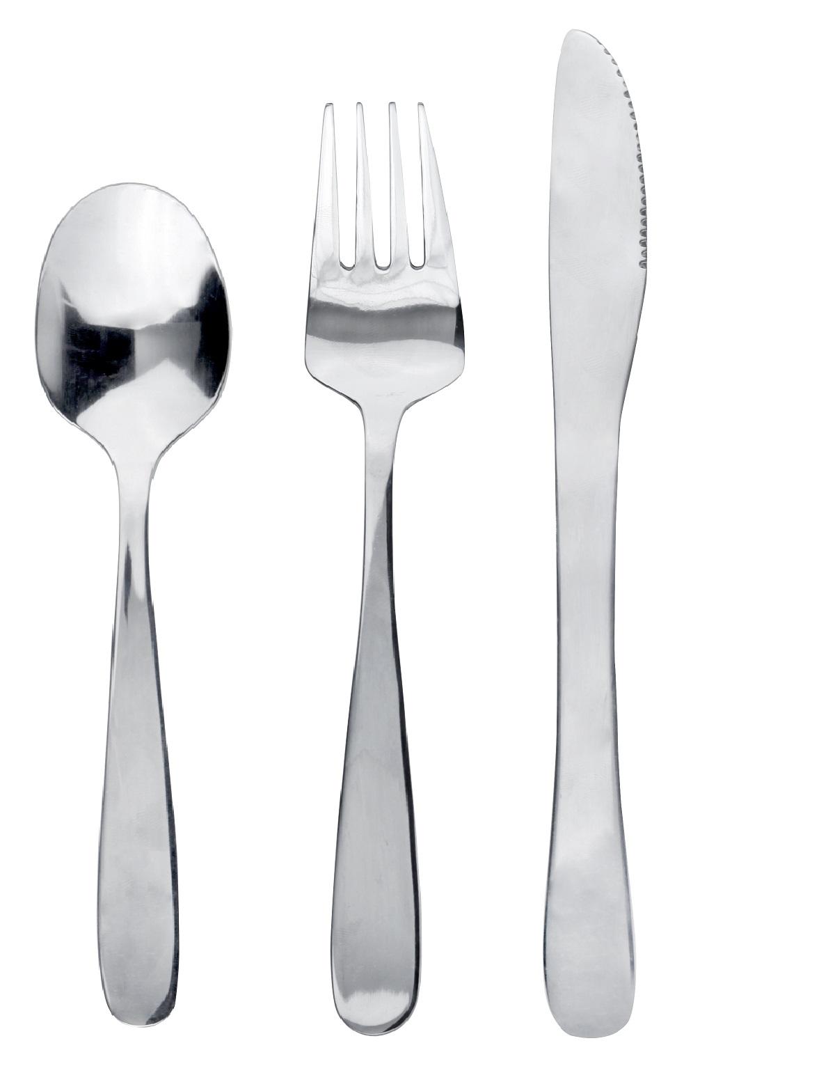 Набор десертный Avia, ложка 14 см, вилка 16.5 см, нож 18 см, нержавеющая сталь