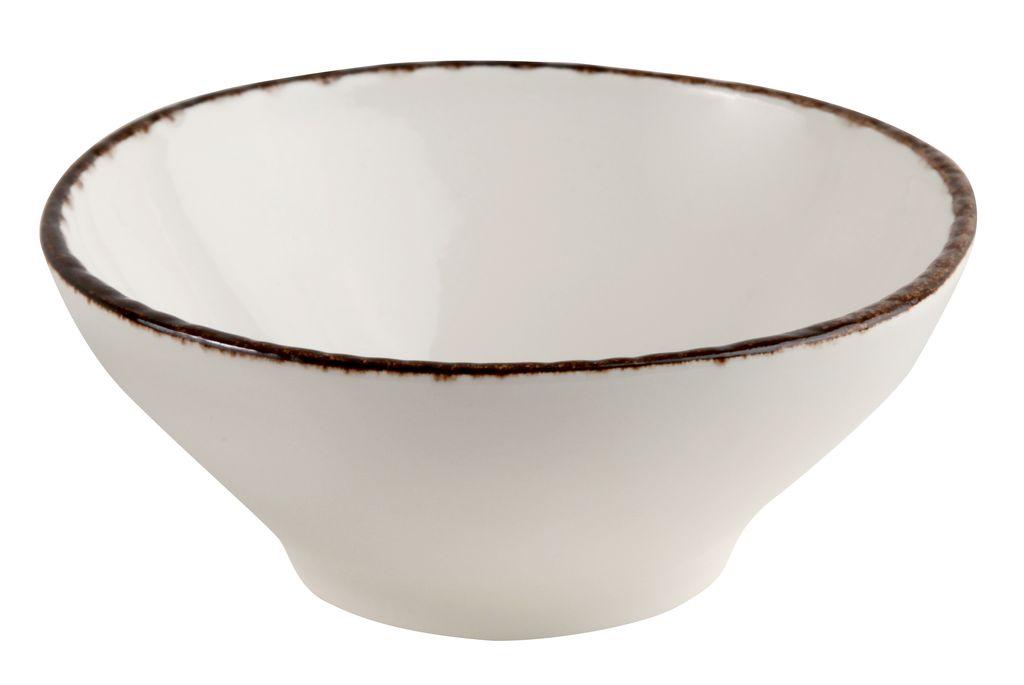 Салатник Fortuna 400 мл, D 15.5 см, бежевый, керамика