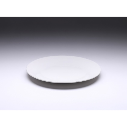 Тарелка мелкая 201 мм Tvist Ivory, фарфор